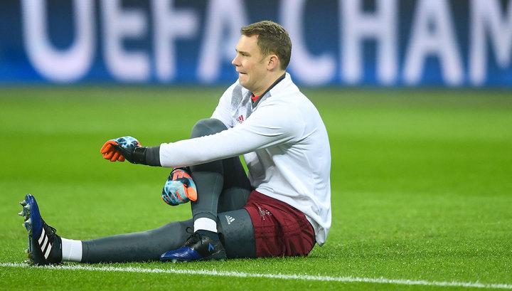 Вратарь сборной Германии Мануэль Нойер рискует пропустить чемпионат мира