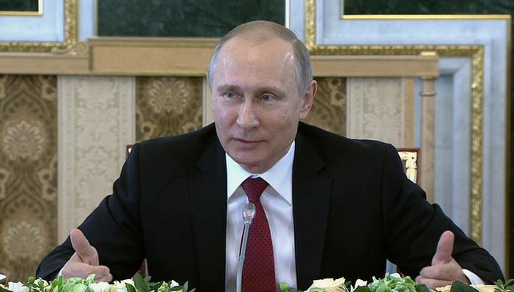 Петербург достиг резкого изменения качества деловой среды— Владимир Путин
