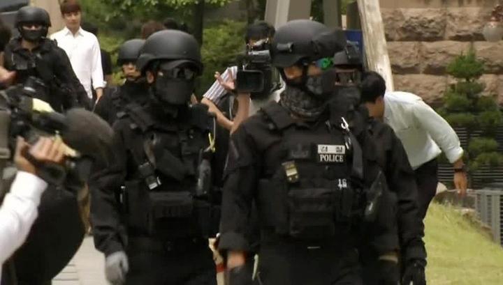 В Южной Корее 3 тысячи полицейских отправились на разгон демонстрации против THAAD