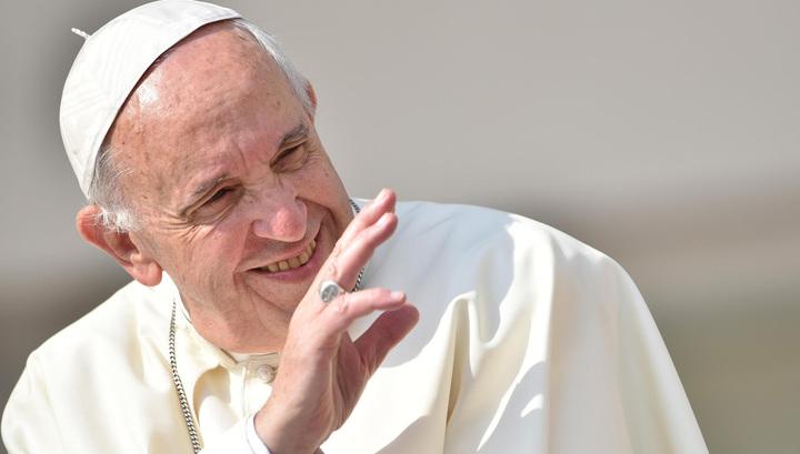 Папа Римский Франциск прибыл в Чили