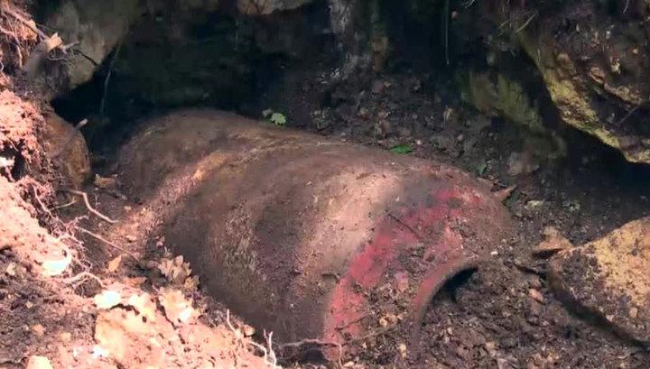 На французском пляже найдена бомба времен Второй мировой войны