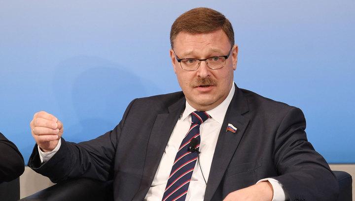 Константин Косачев одобрил намерение Японии снять санкции с России