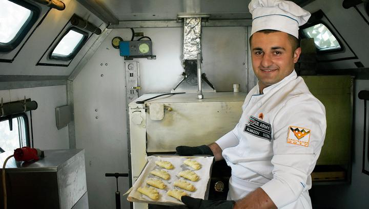 НаАрМИ-2017 приехали израильские повара и поделили 3 место