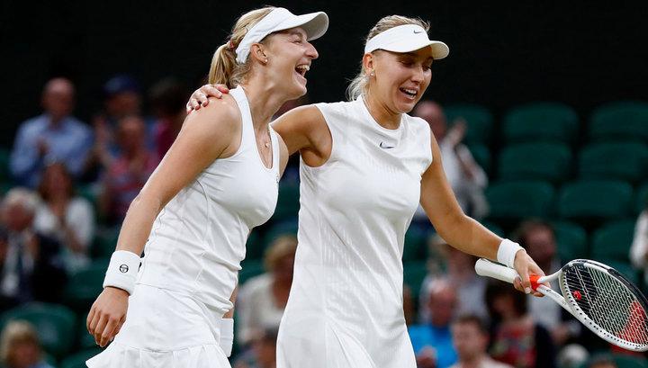 Макарова и Веснина вышли в третий круг парного Australian Open