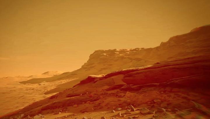 На Марсе обнаружена органика