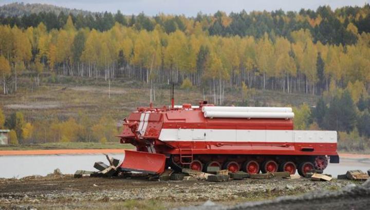 Омский завод направил вЗабайкалье пожарные танки