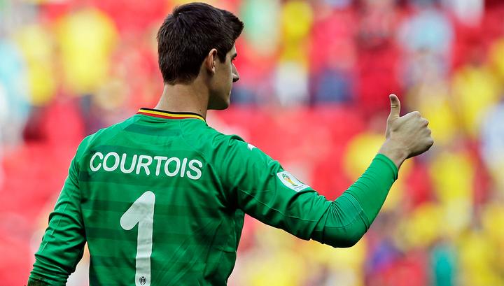 Бывший тренер сборной Бельгии обвинил вратаря Куртуа в утечке информации