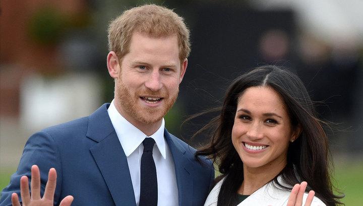 Королева Великобритании одобрила брак принца Гарри с Меган Маркл