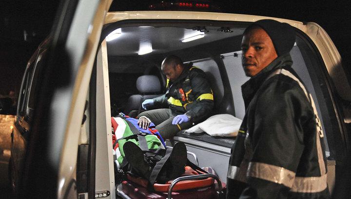 Катастрофа поезда в ЮАР: четыре человека погибли