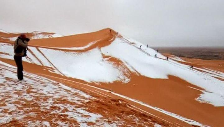 Почему Москва поменялась с Сахарой снегом