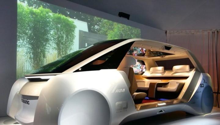 Panasonic представила концепт авто будущего