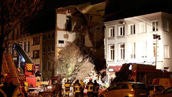 В результате взрыва в Антверпене пострадали 14 человек