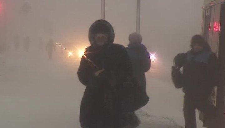 В Сибири и Приморье температура упала до аномально низких значений