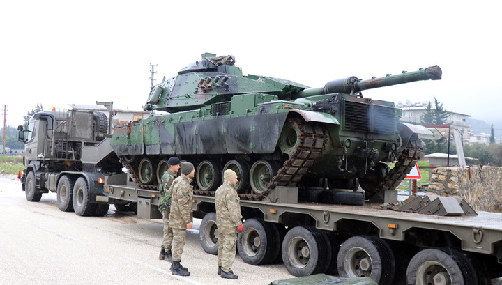 Турция может начать наземную операцию в Африне