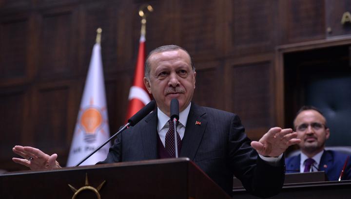 Эрдоган: Турция опасается новой волны беженцев из Сирии