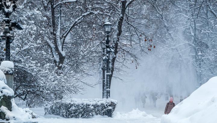 Хабаровский край заметает снегом
