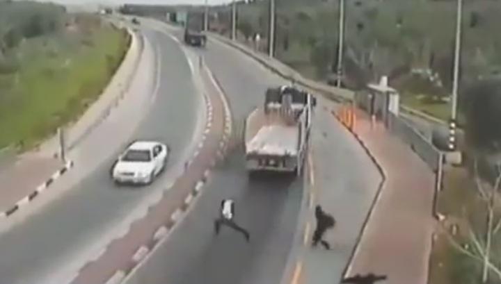 Убийство школьного учителя в Израиле попало на видео