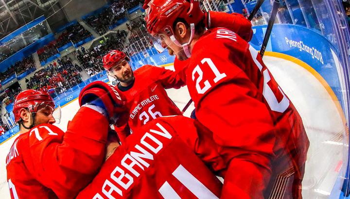 Россияне во втором периоде забросили еще две шайбы в ворота норвежцев