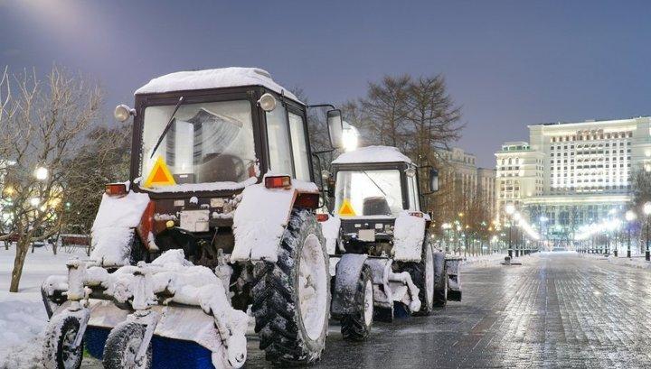В Москве наказали  руководителей, ответственных за уборку снега