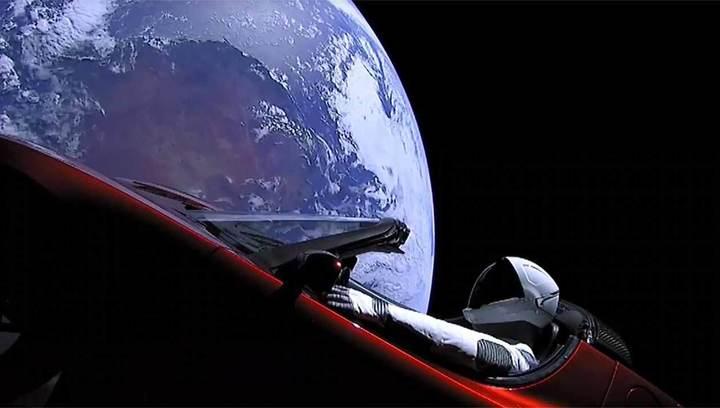 Создан сайт, отслеживающий полет машины Илона Маска к Марсу