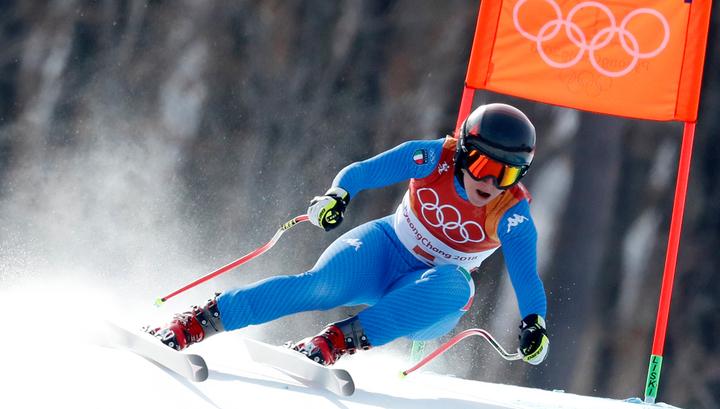 Горнолыжница Годжа стала чемпионкой Олимпийских игр в скоростном спуске