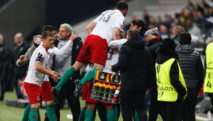 Лига Европы. Клубы из России стартовали в 1/16 евротурнира