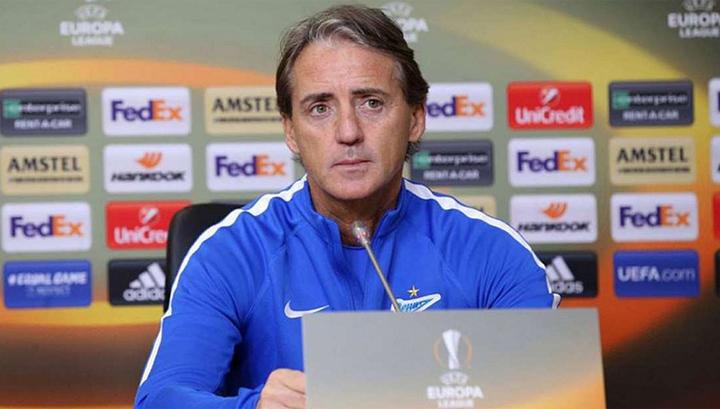 """Тренер """"Зенита"""" Манчини: главное для нас – изменить результат"""