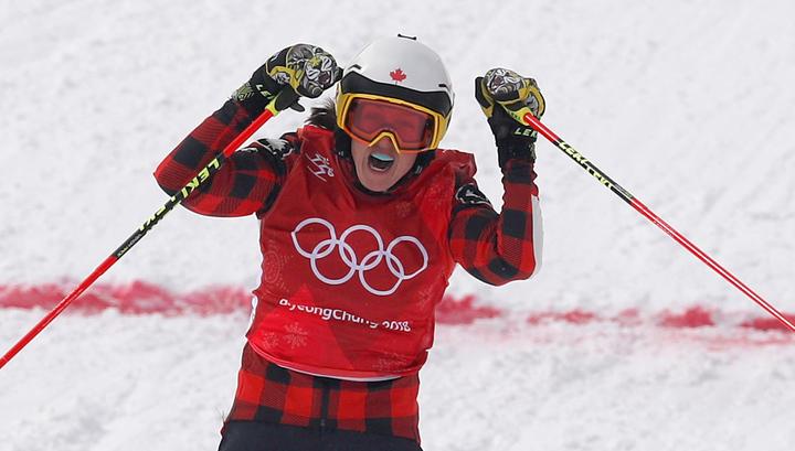 Канадка Серва стала олимпийской чемпионкой в ски-кроссе