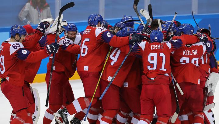 Чехия победила Швецию в хоккейном Евротуре