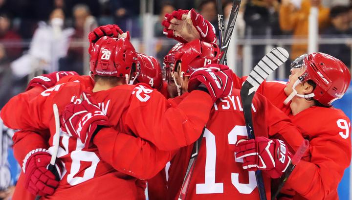 Хоккеисты России вышли вперед в финальном матче Олимпиады