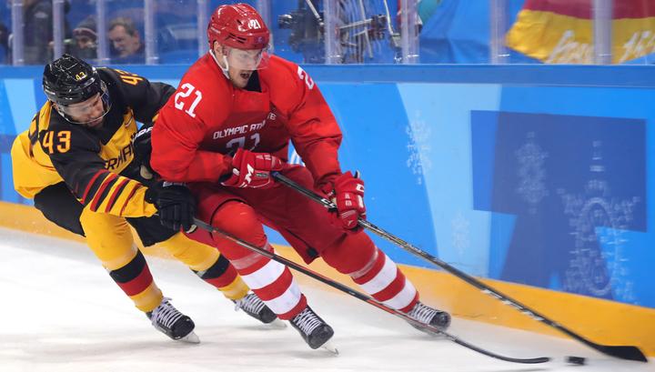 Хоккейный финал Олимпиады: немецкая команда сравняла счет