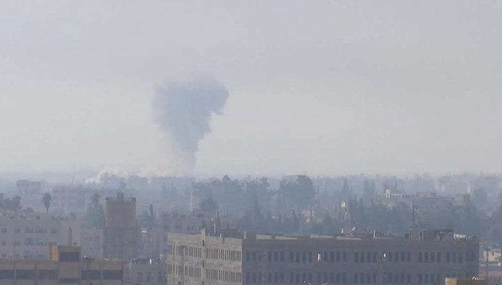Обстрел Дамаска: двое погибли, девять ранены
