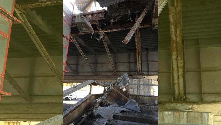 Что сним происходит посути — Вантовый мост
