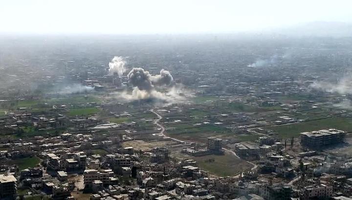 Сирия: у российской авиабазы уничтожен беспилотник боевиков