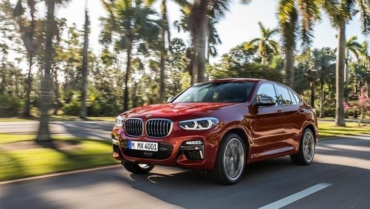 Объявлены цены на новый BMW X4
