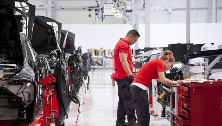 Промпроизводство в США резко выросло в феврале