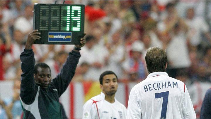 Чемпионат мира по футболу получил право на четвертую замену