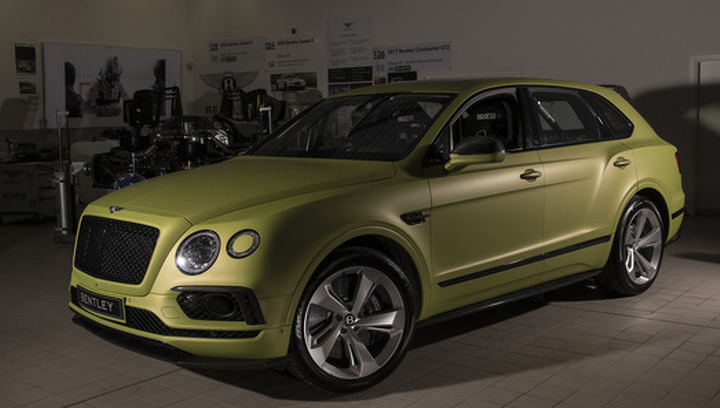 """Роскошный Bentley Bentayga выйдет на старт """"гонки под облака"""""""