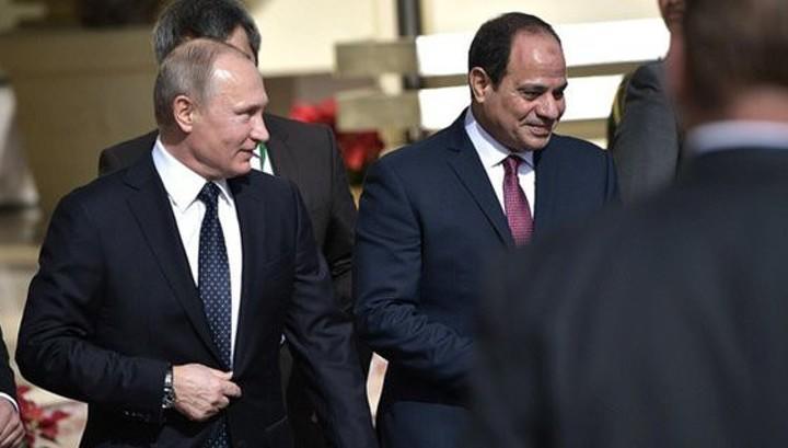 Президент Египта набрал на выборах 97% голосов