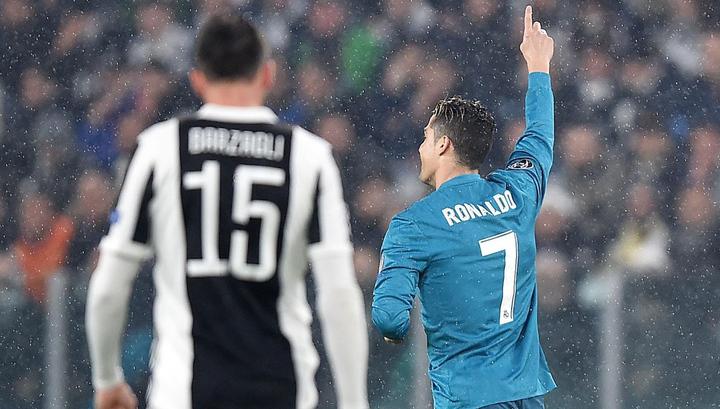 """Гол Криштиану Роналду в ворота """"Ювентуса"""" был признан УЕФА лучшим в сезоне"""