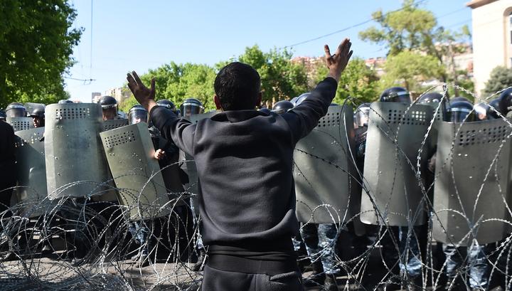 В Ереване задержаны 232 демонстранта