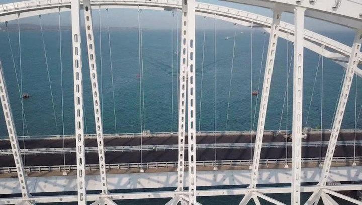 Открыто движение по путепроводу через автопроход к Крымскому мосту