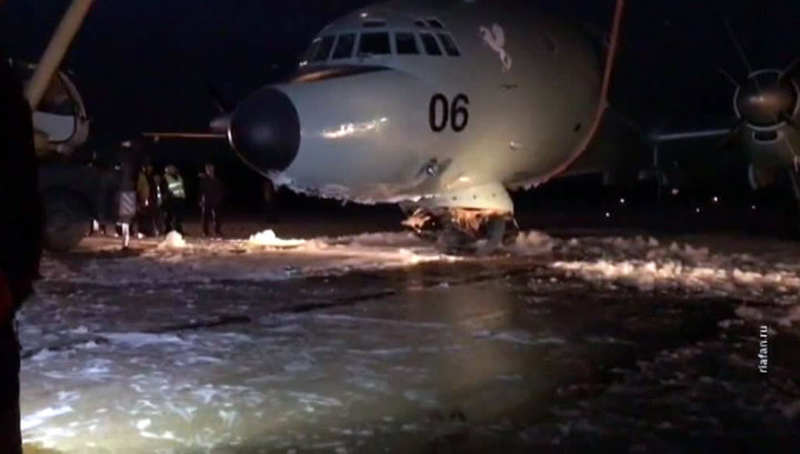 Ил-38, аварийно севший в Жуковском, будет отремонтирован