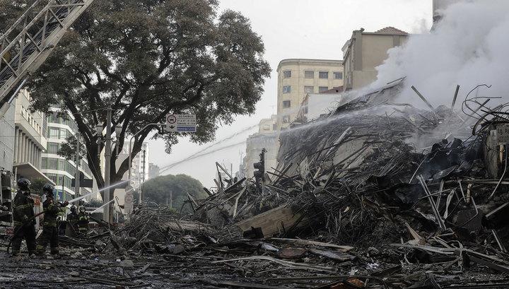 Пожар в Бразилии: число пропавших без вести может достигать 45 человек