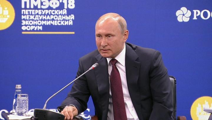 """Путин не советует Западу переходить """"красную черту"""" в отношениях с РФ"""