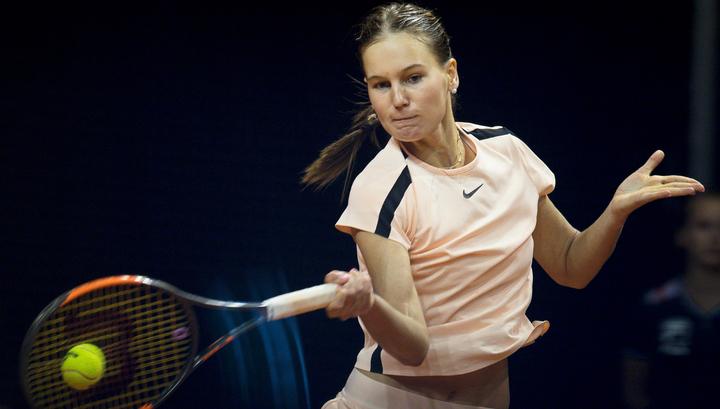 Кудерметова прошла во второй круг турнира в Гштаде