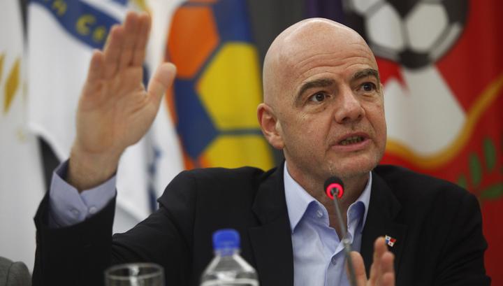 Президент ФИФА Инфантино награжден орденом Дружбы