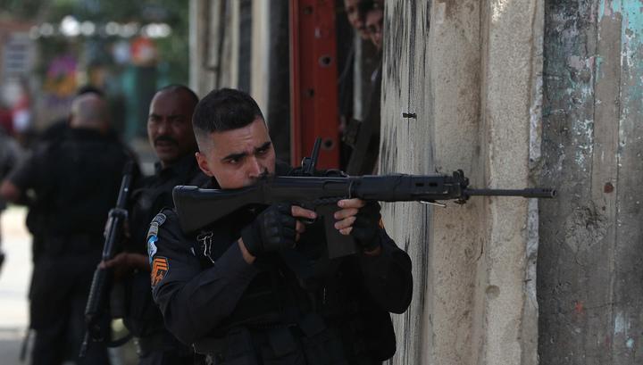В ходе спецоперации в Рио-де-Жанейро погибли семь человек