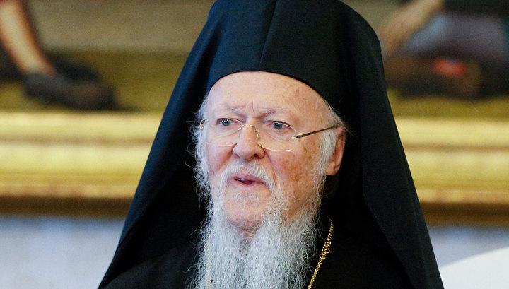 Варфоломей уверен в победе Константинополя в вопросе украинской автокефалии
