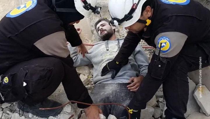 """Фонд проблем демократии: """"Белые каски"""" в Сирии работают в тесной связке с террористами"""